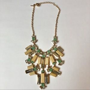 Kate Spade Centro Tiles Statement Bib Necklace
